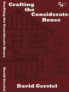 Crafting the Considerate House Book Cover Design