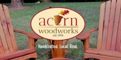 Acorn Woodworks Website Screenshot